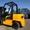 Дизельный погрузчик навантажувач Nissan на 3 тонны с позиционером вил - Изображение #5, Объявление #1696552