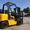 Дизельный погрузчик навантажувач Nissan на 3 тонны с позиционером вил - Изображение #6, Объявление #1696552