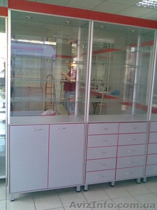 Аптечное торговое оборудование.Прилавки и шкафы для аптек. - Изображение #2, Объявление #1644249