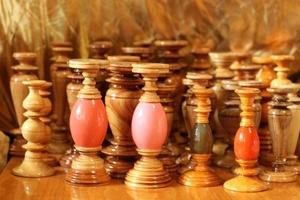 Деревянный подсвечник для тонкой церковной свечи, отличный подарок - Изображение #3, Объявление #1676985