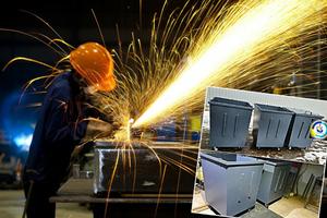 Мусорные баки, Изготовление мусорных контейнеров доставка вся Украина - Изображение #1, Объявление #1159900