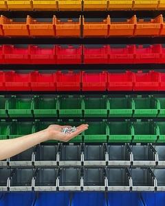 Стеллажи для метизов Днепр металлические складские стеллажи с ящиками - Изображение #4, Объявление #1701759