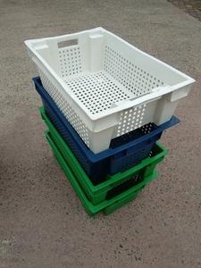 Пищевые хозяйственные пластиковые ящики для мяса молока рыбы ягод овощей в Днепр - Изображение #2, Объявление #1707108