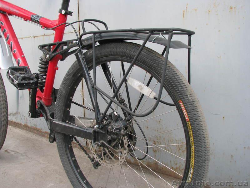 Багажник на двухподвесный велосипед своими руками 30