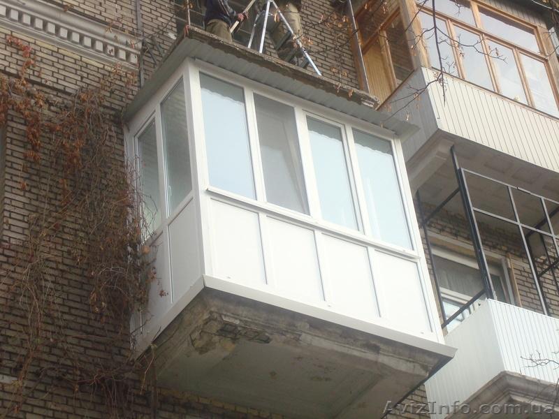Балконы раздвижные теплые под ключ, цена - 3 297 грн, днепро.