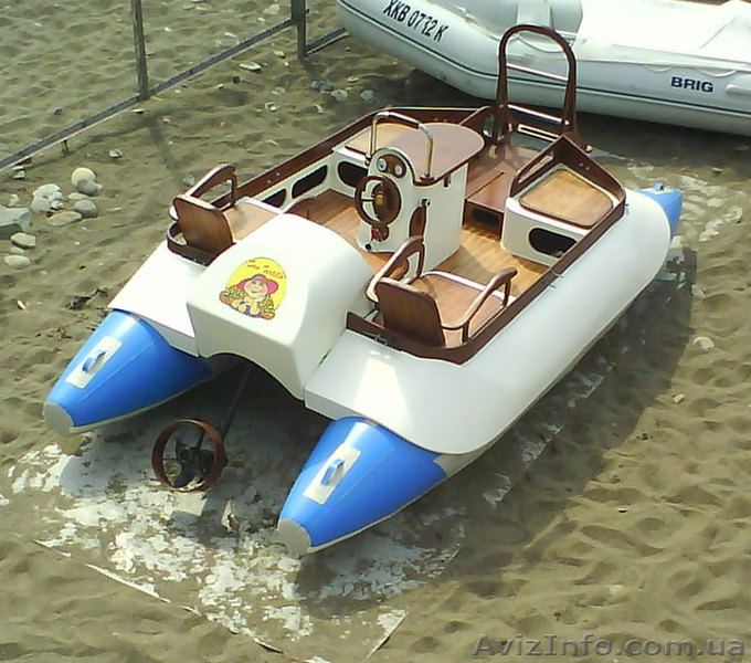 велопривод лодок