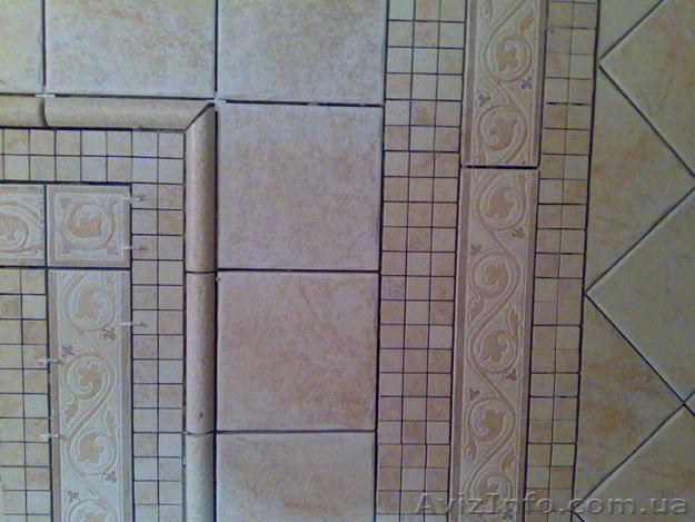 варианты рисунка плиткой на кухне