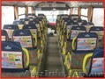 Реклама на транспорте. Реклама в маршрутках. Реклама на подголовниках.
