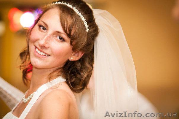 свадебные прически и макияж в днепропетровске