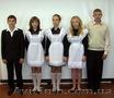 Школьное платье и белый фартук