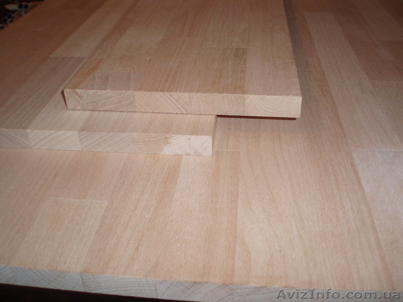Мебельный щит Экстра из дуба 40 мм цельноламельный