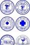 Печать врача и медицинские штампы