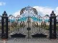 кованные ворота в Днепропетровске