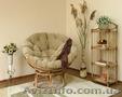 круглые кресла папасан из ротанга
