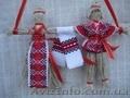 Неразлучники Оберег Сувенир Кукла -мотанка