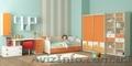 Стильная детская кровать с ящиками