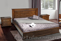 Дубовая кровать Елит