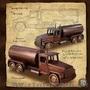 Сувенирный мини бар из дерева Автомобиль грузовой