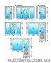 Предлагаем металлопластиковые окна и двери,  балконы и лоджии