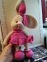Продам игрушку вязаная Зайка девочка.   - Изображение #2, Объявление #1660257